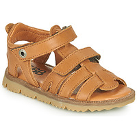 Topánky Chlapci Sandále GBB JULIO Hnedá