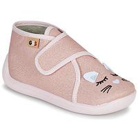 Topánky Dievčatá Papuče GBB APODIE Ružová