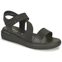 Topánky Ženy Sandále Ara IBIZA-S HIGH SOFT Čierna
