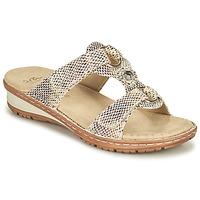 Topánky Ženy Sandále Ara HAWAII Béžová
