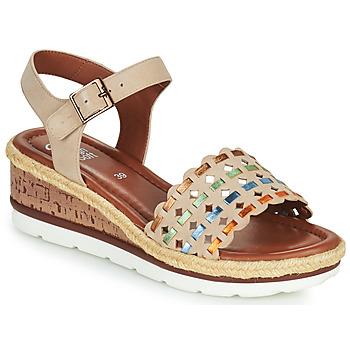 Topánky Ženy Sandále Ara CADIZ-S Béžová