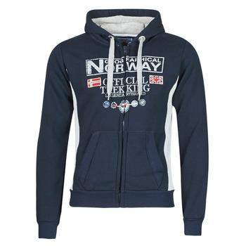 Oblečenie Muži Mikiny Geographical Norway GAFONT Námornícka modrá