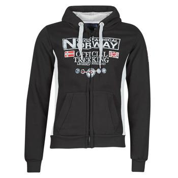 Oblečenie Muži Mikiny Geographical Norway GAFONT Čierna