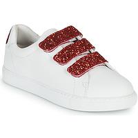 Topánky Ženy Nízke tenisky Bons baisers de Paname EDITH BACK LIPS Biela