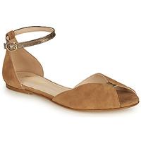 Topánky Ženy Sandále Betty London INALI Ťavia hnedá