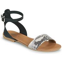 Topánky Ženy Sandále Betty London GIMY Čierna / Šedá