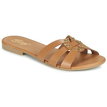 Topánky Ženy Šľapky Betty London OISO Ťavia hnedá