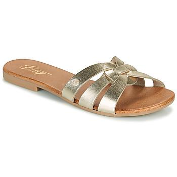 Topánky Ženy Šľapky Betty London OIGILE Zlatá
