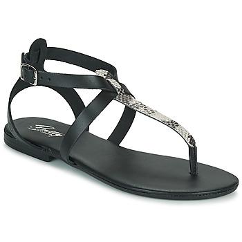 Topánky Ženy Sandále Betty London ORIOUL Čierna / Šedá