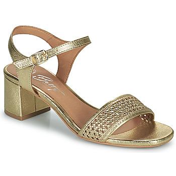 Topánky Ženy Sandále Betty London OUPETTE Zlatá