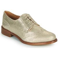 Topánky Ženy Derbie Betty London CODEUX Zlatá