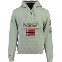 Oblečenie Chlapci Mikiny Geographical Norway GYMCLASS Šedá