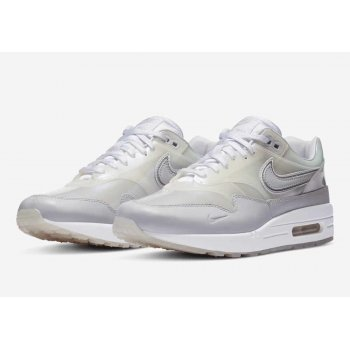 Topánky Nízke tenisky Nike Air Max 1 Sneaker Day White White/ Silver Metallic