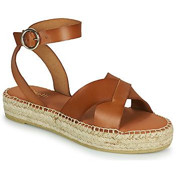 Topánky Ženy Sandále Minelli TRONUIT Hnedá