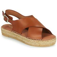 Topánky Ženy Sandále Minelli MOULTI Hnedá