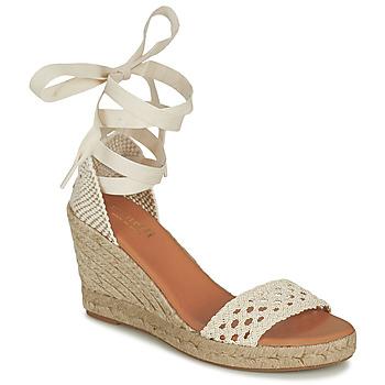 Topánky Ženy Sandále Minelli SHELLYE Krémová
