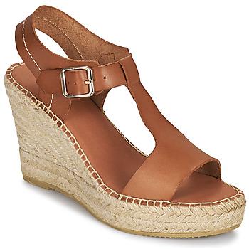Topánky Ženy Sandále Minelli LIZZIE Hnedá