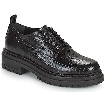 Topánky Ženy Derbie Minelli EMYLANDE Čierna