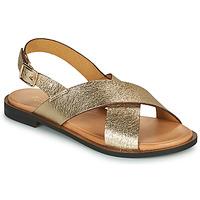 Topánky Ženy Sandále Minelli DONA Zlatá