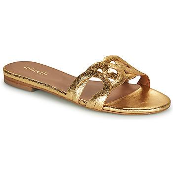 Topánky Ženy Šľapky Minelli NANCIA Zlatá