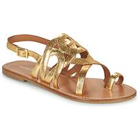 Topánky Ženy Sandále Minelli NOUNNA Zlatá