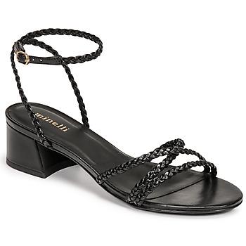 Topánky Ženy Sandále Minelli HARIETTE Čierna