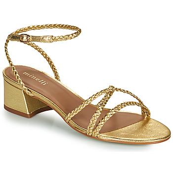 Topánky Ženy Sandále Minelli HARIETTE Zlatá