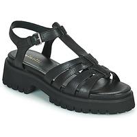 Topánky Ženy Sandále Minelli HELLHA Čierna