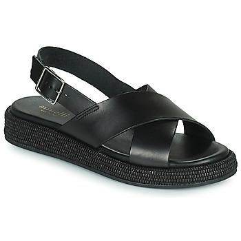 Topánky Ženy Sandále Minelli HADDIA Čierna