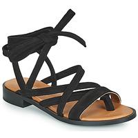 Topánky Ženy Sandále Minelli HURIA Čierna