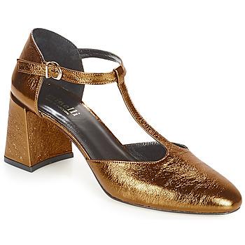Topánky Ženy Lodičky Minelli GAELANE Bronzová