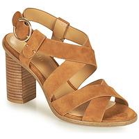 Topánky Ženy Sandále Minelli CLAVIA Hnedá