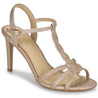 Topánky Ženy Sandále Minelli CHADA Zlatá