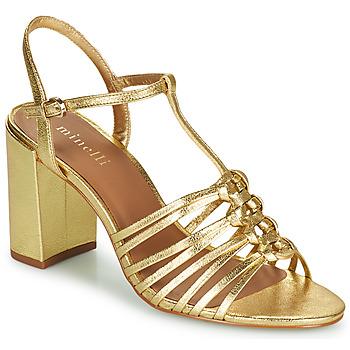 Topánky Ženy Sandále Minelli THERENA Zlatá