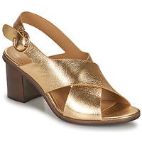Topánky Ženy Sandále Minelli THIVIYA Zlatá