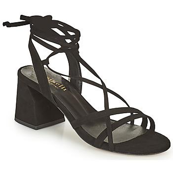 Topánky Ženy Sandále Minelli TATIA Čierna