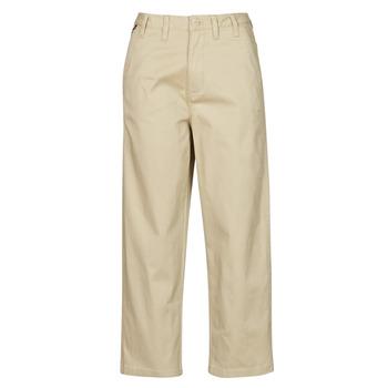Oblečenie Ženy Nohavice Chinos a Carrot Tommy Jeans TJW HIGH RISE STRAIGHT Béžová