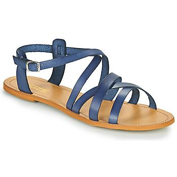 Topánky Ženy Sandále So Size IDITRON Námornícka modrá