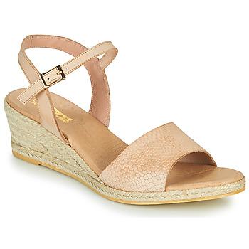 Topánky Ženy Sandále So Size OTTECA Béžová