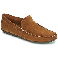 Topánky Muži Mokasíny So Size MIJI Ťavia hnedá