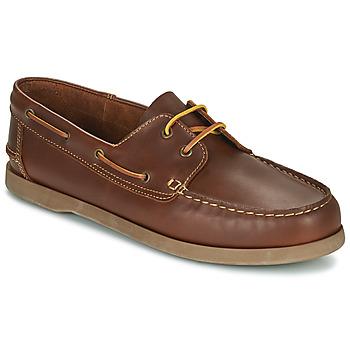 Topánky Muži Námornícke mokasíny So Size MALIK Svetlá hnedá