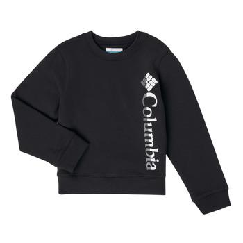 Oblečenie Dievčatá Mikiny Columbia COLUMBIA PARK FRENCH TERRY CREW Čierna