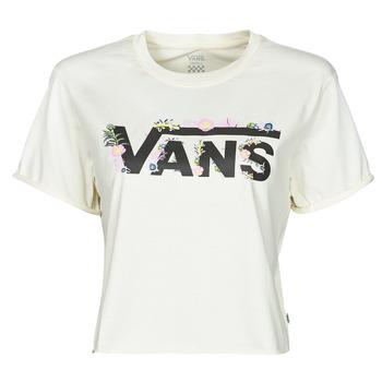 Oblečenie Ženy Tričká s krátkym rukávom Vans BLOZZOM ROLL OUT Biela