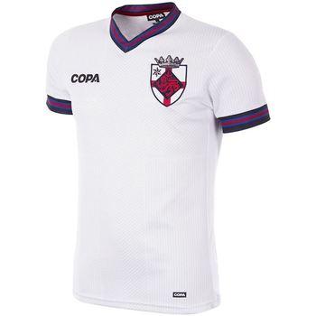 Oblečenie Muži Tričká s krátkym rukávom Copa Football Maillot Copa Angleterre blanc