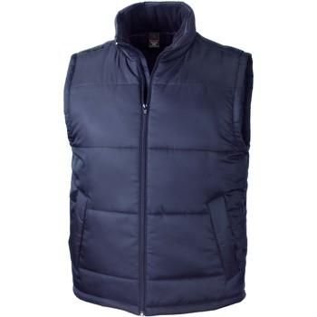 Oblečenie Cardigany Result Doudoune Sans Manche  Core bleu marine