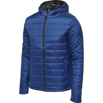 Oblečenie Muži Vyteplené bundy Hummel Parka  Quilted North bleu foncé