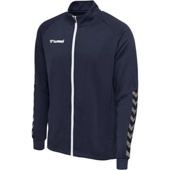Oblečenie Muži Vrchné bundy Hummel Veste  Zip hmlAUTHENTIC Poly bleu marine
