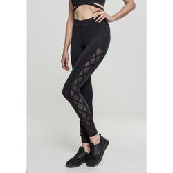 Oblečenie Ženy Legíny Urban Classics Legging femme Urban Classic Ribbon noir