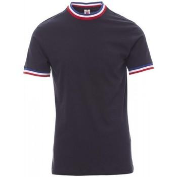 Oblečenie Muži Tričká s krátkym rukávom Payper Wear T-shirt Payper Flag bleu roi/italie