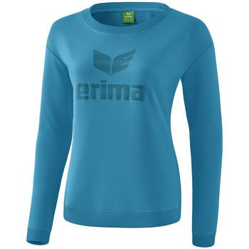 Oblečenie Ženy Tričká s dlhým rukávom Erima Sweat-shirt femme  Essential bleu clair/bleu